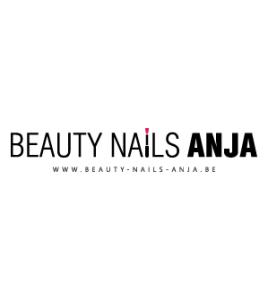 Anja Beauty Nails Zingem logo ontwerp · Xtrema Reclamebureau - Webdesign Harelbeke - Websites Kortrijk - Xtrema Webdesign - West-Vlaanderen