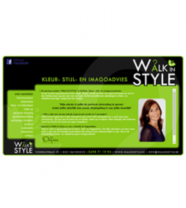 Walk in Style Bavikhove · Xtrema Reclamebureau - Webdesign Harelbeke - Websites Kortrijk - Xtrema Webdesign - West-Vlaanderen