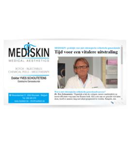 Mediskin Moorsele · Xtrema Reclamebureau - Webdesign Harelbeke - Websites Kortrijk - Xtrema Webdesign - West-Vlaanderen