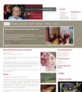 Nathalie Kint Wijnen Vichte · Xtrema Reclamebureau - Webdesign Harelbeke - Websites Kortrijk - Xtrema Webdesign - West-Vlaanderen