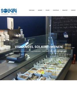 Solkiri Vishandel Traiteur Menen · Xtrema Reclamebureau - Webdesign Harelbeke - Websites Kortrijk - Xtrema Webdesign - West-Vlaanderen